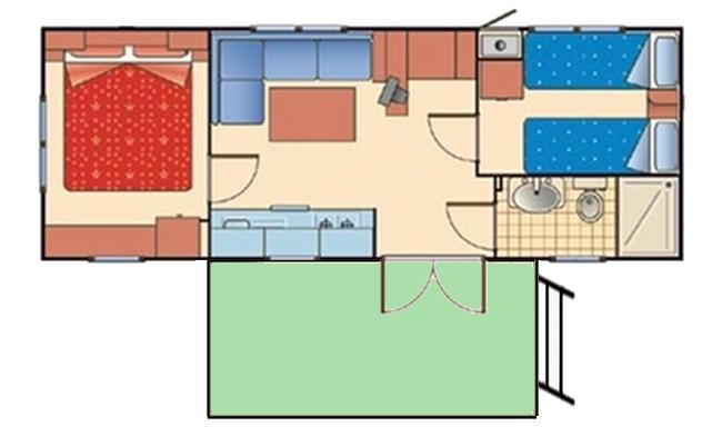 Le case mobili campeggio acapulco - Bagno da campeggio ...